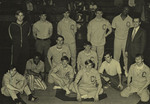 1974-1975 Wrestling Team by Cedarville College