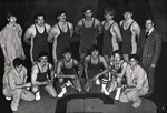 1977-1978 Wrestling Team by Cedarville College