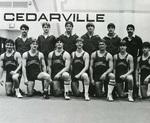 1981-1982 Wrestling Team by Cedarville College