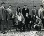 1982-1983 Wrestling Team by Cedarville College