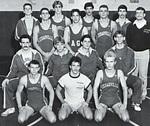 1985-1986 Wrestling Team by Cedarville College