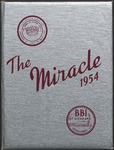 1954 Miracle Yearbook