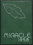 1958 Miracle Yearbook