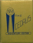 1950 Cedrus Yearbook