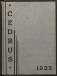 1935 Cedrus Yearbook